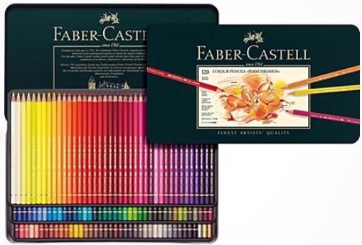 polychromos-pennor från Faber-Castell