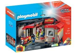 Playmobil brandsstation